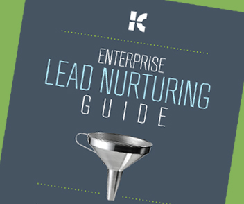 Download the Enterprise Lead Nurturing Free Guide