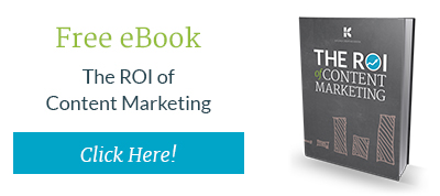 Download the Content Marketing ROI eBook