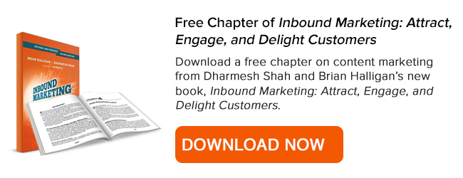 Download a free chapter of Inbound Marketing