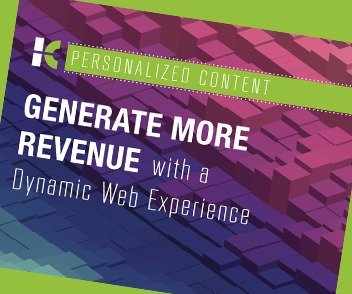 Better engage website visitors with a dynamic web experience