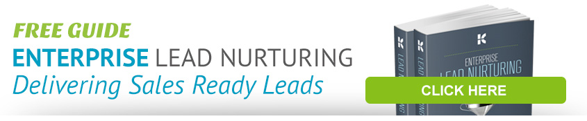 Enterprise Lead Nurturing: Delivering Sales Ready Leads