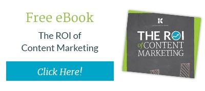 Discover the ROI of Content Marketing with this free ebook