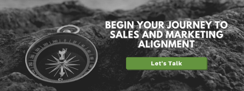 begin your journey to sales and marketing alignment. let's talk