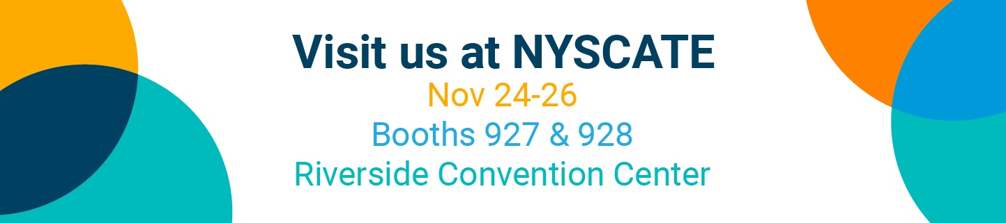nyscate event banner