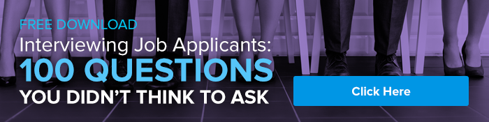 Free Download: Interviewing Job Applicants: 100 Questions You Didn't Think to Aslk