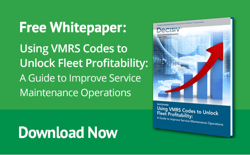 Free Whitepaper: Using VMRS Codes to Unlock Fleet Profitability. A Guide to Improve Service Maintenance Operations. Download Now