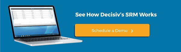 See How Decisiv's SRM Works, Schedule a Demo