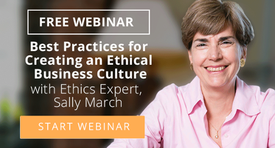 Ethics Webinar with Sally March