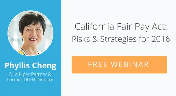 California Fair Pay Act Free Webinar