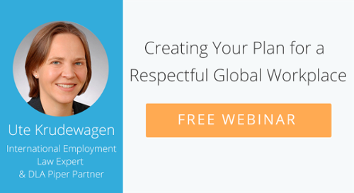 Creating Your Plan for a Respectful Global Workplace
