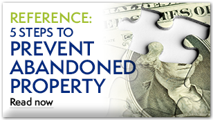White paper: 5 Steps to Prevent Unclaimed Property