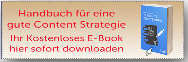 HubSpot Handbuch Content Marketing
