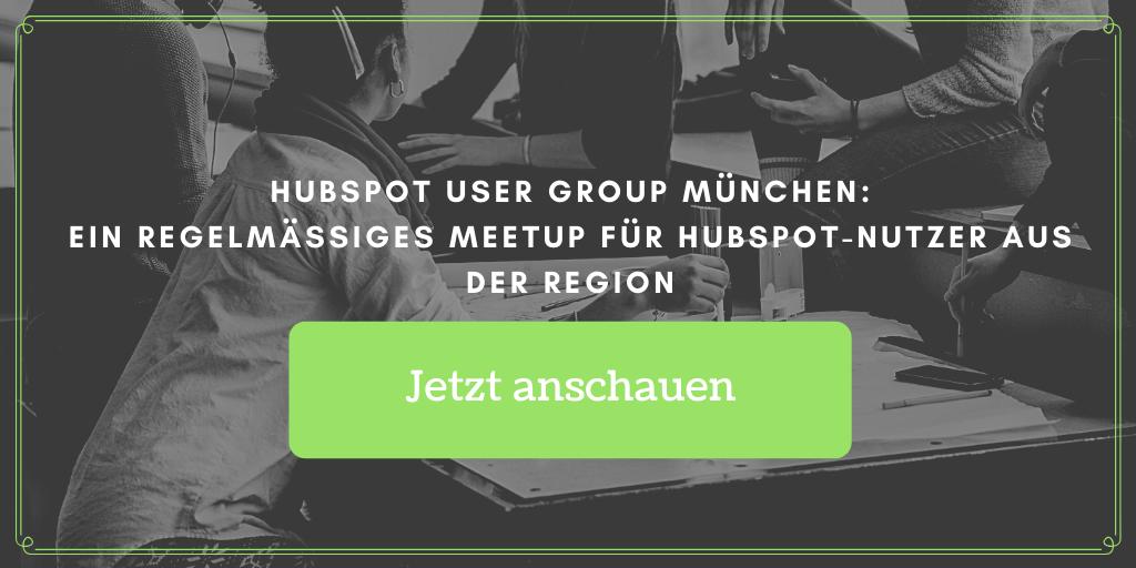 HubSpot User Group München