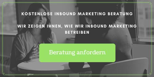 Kostenlose Inbound Marketing Beratung
