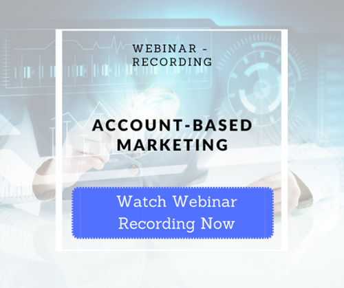 Webinar Account-Based-Marketing