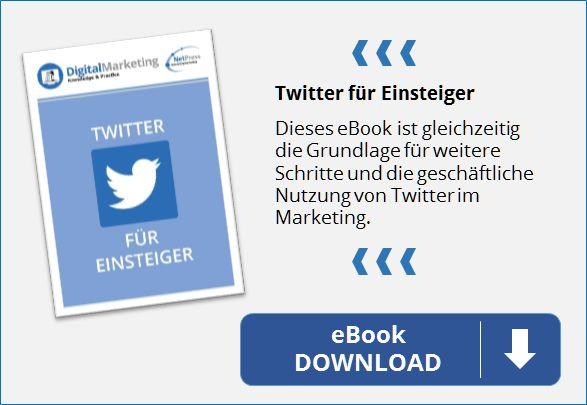 NetPress E-Book Twitter für Einsteiger