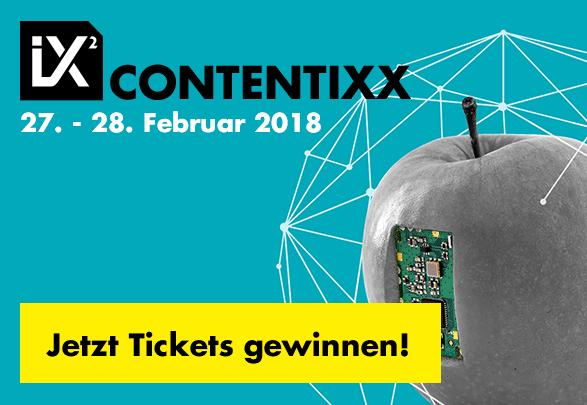 CONTENTIXX Ticket gewinnen