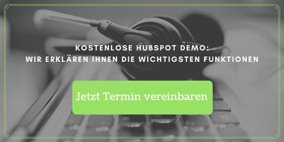 Termin Demo HubSpot