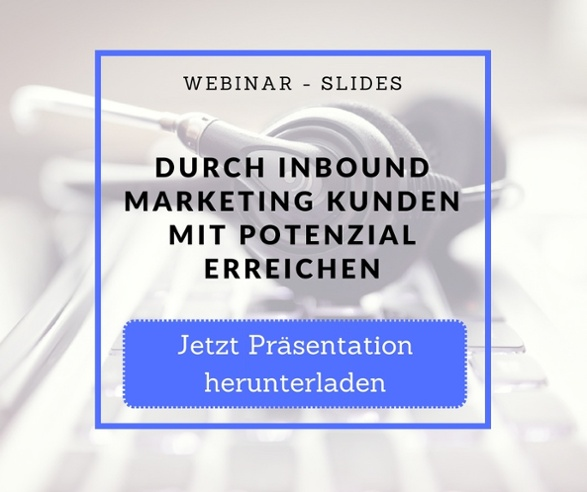 Webinar Slides Inbound Marketing