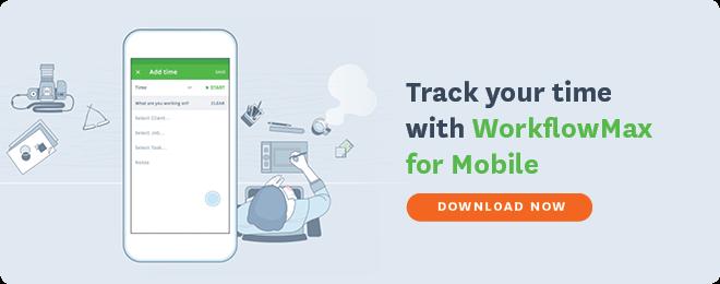 WorkflowMax Mobile app