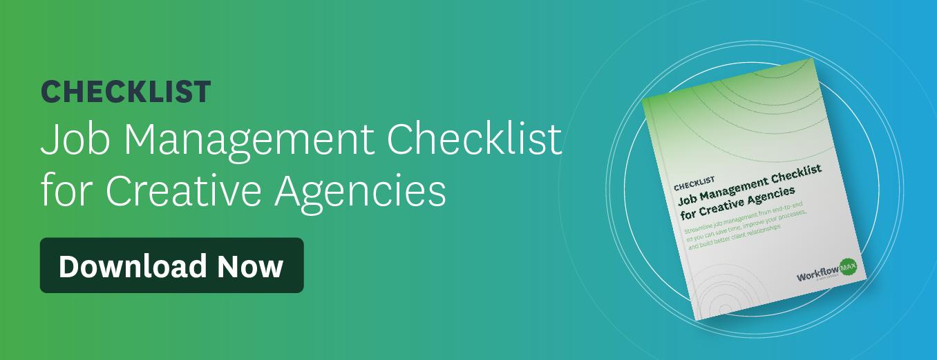 Download - Job Management Checklist for Creative Agencies