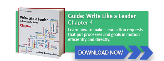 Write Like a Leader Chapter 4