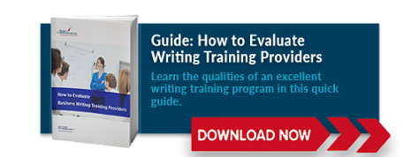 writing training providers