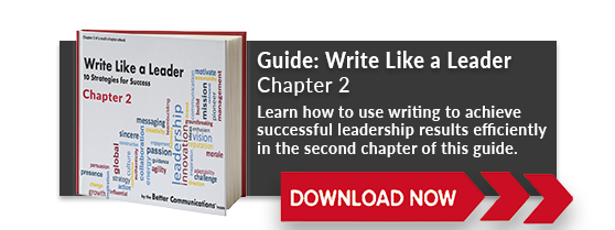 Download Chapter 2 of Write Like a Leader!