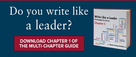 Write Like a Leader