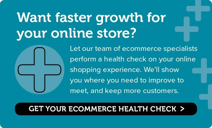 Get your ecommerce site's health checked now