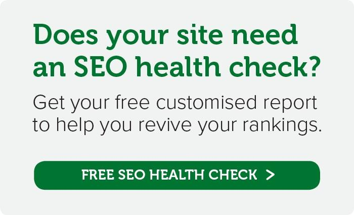 Get your free customised SEO report