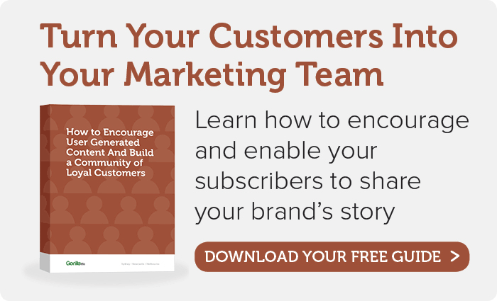 Download Your Ecommerce User Generated Content Guide Now