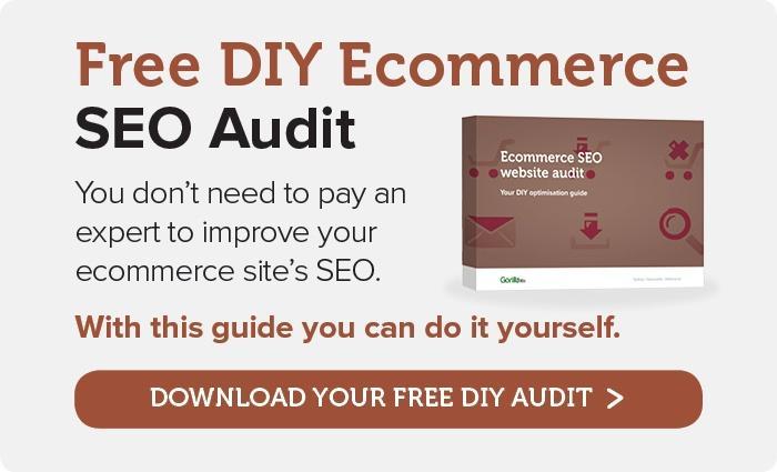 Free DIY Ecommerce SEO Audit