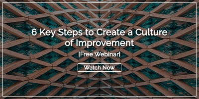 Key Steps to Create a Culture of Improvement eBook