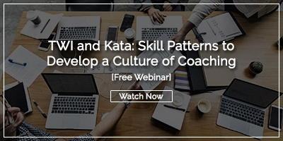 ree Webinar Recording: TWI and Kata