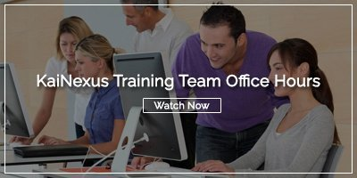 [Watch Now] KaiNexus Training Team Office Hours
