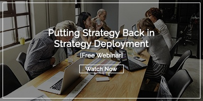 Free Webinar: Putting Strategy Back in Strategy Deployment