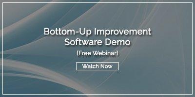 [WEBINAR] Bottom-Up Improvement Software Demo