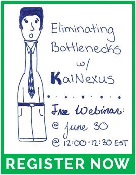 Free webinar: Eliminating Bottlenecks with KaiNexus