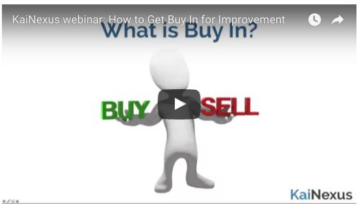 How to Get Buy-In For Improvement Webinar