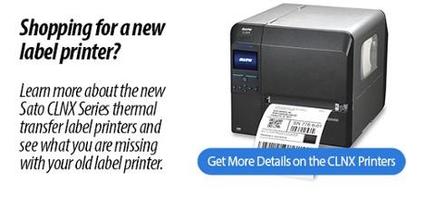 Sato CLNX Label printers