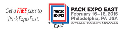 Free pass to Pack Expo East 2015