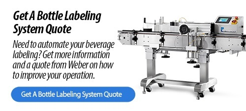 Bottle Labeling Systems from Weber