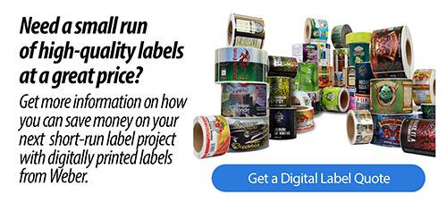 Digital label printing from Weber