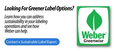 Weber Sustainable labels