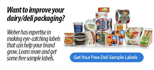 Get dairy deli sample labels
