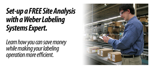 Get a free labeling site analysis