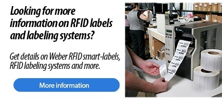 RFID labels and labeling systems