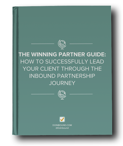 the winning inbound marketing partner guide cover