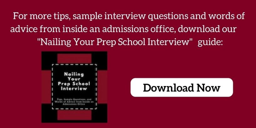 Nailing Your Prep School Interview Download